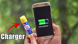 Charge Your Phone Using Glue Stick Amazing Life Hacks