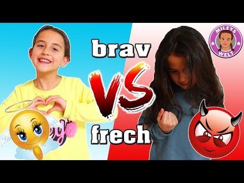 FRECHES VS. BRAVES Kind - 7 Arten von Kindern - Mileys Welt