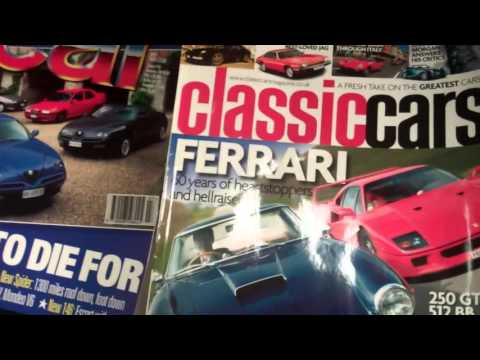 car magazine collection for sale
