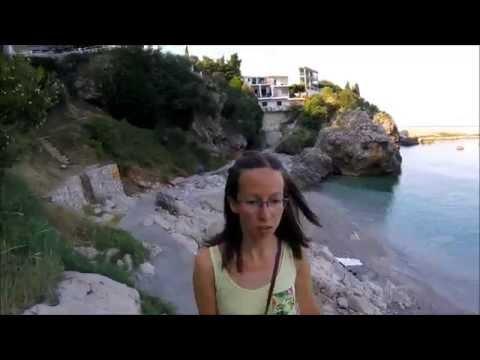 Обзор кафе и пляжей Добре-Воде (Добра Вода), Черногория 2016