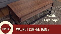Easy to Make Coffee Table with Lift Up Top