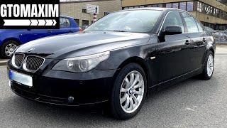 2007 BMW series 5 E60 523i - test drive