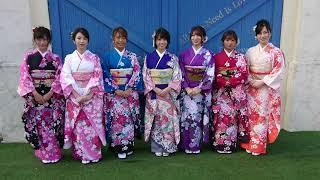 「R・I・P GIRLS」新年あいさつで犬童美乃梨、橋本梨菜、森咲智...