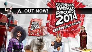 Guinness World Records 2014 Book Launch Videos