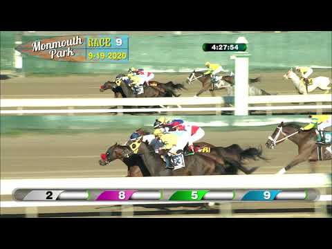 video thumbnail for MONMOUTH PARK 09-19-20 RACE 9