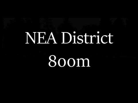 NEA District 800m