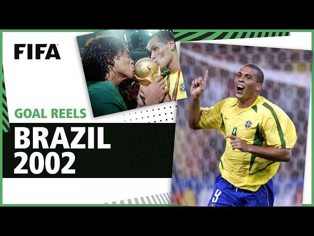 All of Brazil's 2002 World Cup Goals | Ronaldo, Rivaldo, Ronaldinho & more!