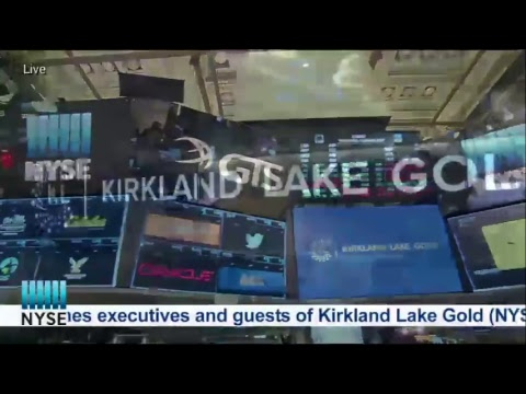 Kirkland Lake Gold (NYSE: KL) Celebrates their IPO