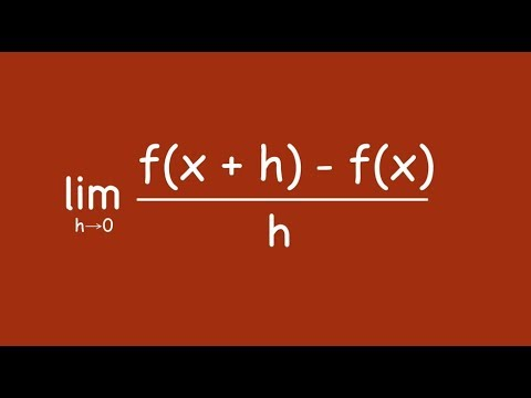 The Calculus Definition of a Derivative Song