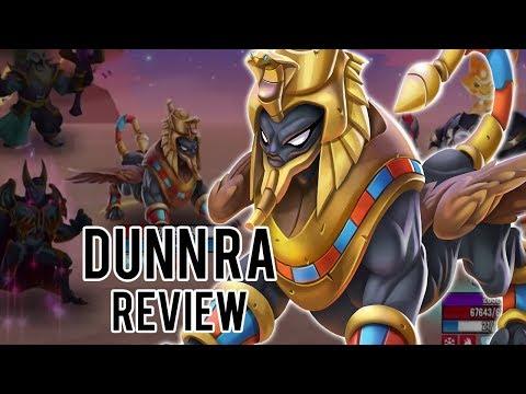 DUNN RA (LV 100-130) REVIEW - EL TANQUE MAS FUERTE! - Monster Legends