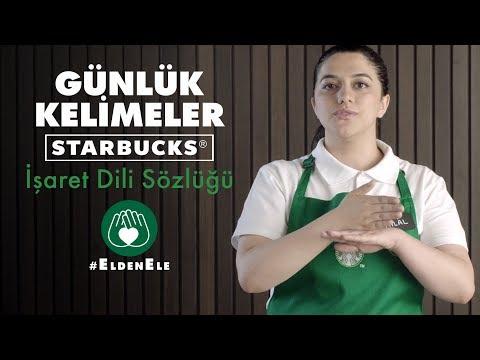 GÜNLÜK KELİMELER | Starbucks İşaret Dili Sözlüğü | #EldenEle