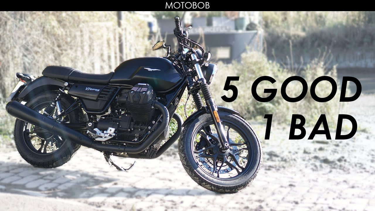 moto guzzi v7 iii stone test ride review youtube. Black Bedroom Furniture Sets. Home Design Ideas
