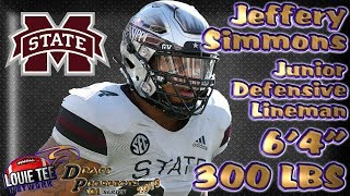 2019 NFL Draft Prospects 101 | Film Session | DL Jeffery Simmons