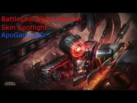 Battlecast Alpha Skarner - Skin Spotlight - League Of Legends
