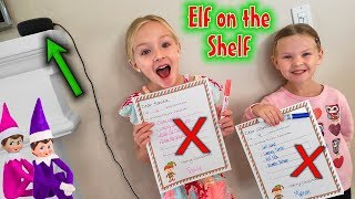 Elf on the Shelf - Finding Their Top Secret Christmas Wish Lists! (ALexa)