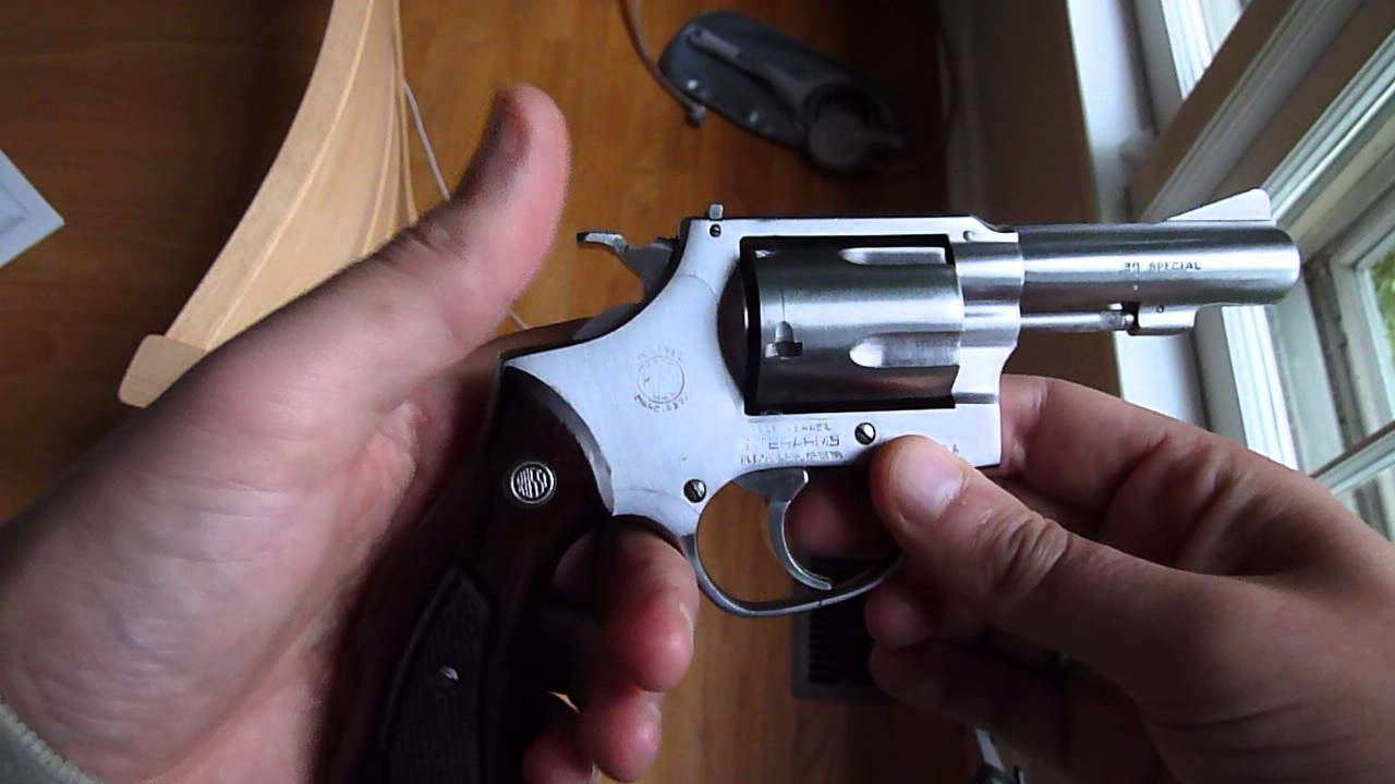 Rossi 88 revolver - review and discussion