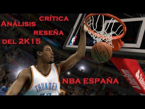 Análisis, crítica y reseña del 2K15 para la PlayStation 3 en Español