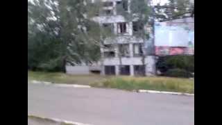 26 мая 2014г Война, Славянск, мкр-н Артема. Обстрел жилого массива.
