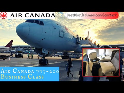 Air Canada 777 IMPROVED SIGNATURE (Business) Class To Shanghai: Best North American Carrier?