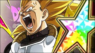 THE BEST SSJ3 VEGETA? 100% RAINBOW STAR SSJ3 XENO VEGETA SHOWCASE! (DBZ: Dokkan Battle)