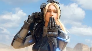Nova, Raynor, Tyrael vs Kerrigan, Diablo, Arthas. Heroes of the Storm. Trailer (16:9)