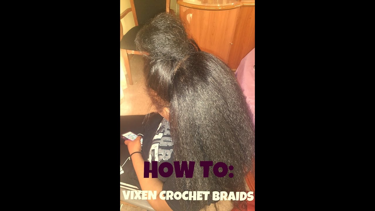 Crochet Hair Vs Sew In : HOW TO: Versatile/ Vixen Crochet Braids - YouTube