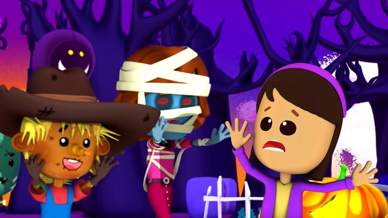 Anda Tidak Dapat Menjalankan Ini Malam Halloween | You Can't Run | Kids Tv Indonesia | Lagu Ana
