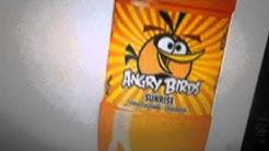 Uudet Angry Birds Sunrise-Mandariini ja Diamond-Vadelma virvoitusjuomat