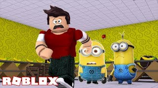 THE MINIONS WANT TO PICK US UP AT ROBLOX!!!