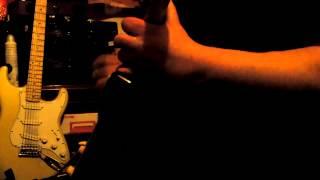 AC/DC crabsody in blue guitar improv