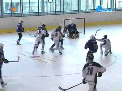 Bermuda vs Finland 2009 World Ball Hockey Championships in Pilsen, Czech Republic.