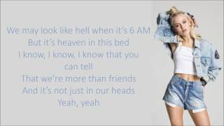 Zara Larsson ~ Don't Let Me Be Yours ~ Lyrics