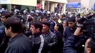 17 NOYABR.2012 Musavat mitinq Tarqovu Mc.Donalds yaxinlig
