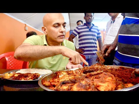 HOTEL NARAYANA'S Famous FISH FRY with Masala|Mangalore Food Trail|Top Seafood Restaurant|Fish Meals