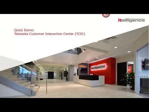 Telesales Customer Interaction Center (TCIC)