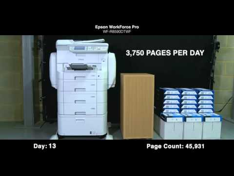 Epson WorkForce Pro RIPS Test and Review
