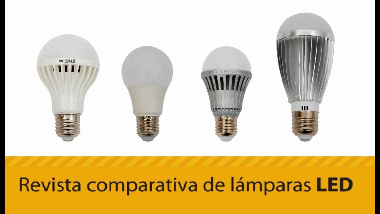 Valor Lamparas Led Revista Comparativa De Lámparas Led