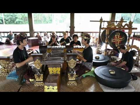 John Cage performed on Balinese Gamelan