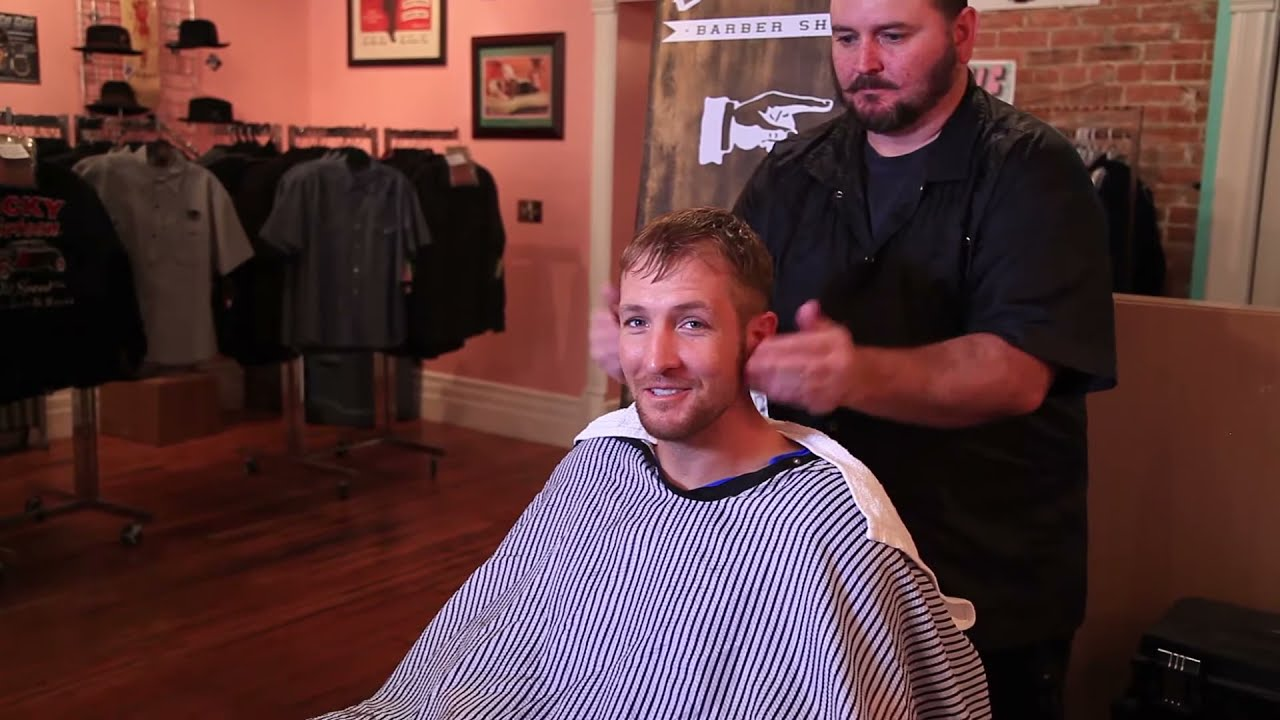 Gents Barber Shop Mens Haircuts And Straight Razor Shaves Youtube