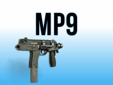 MW3 In Depth - MP9 Machine Pistol