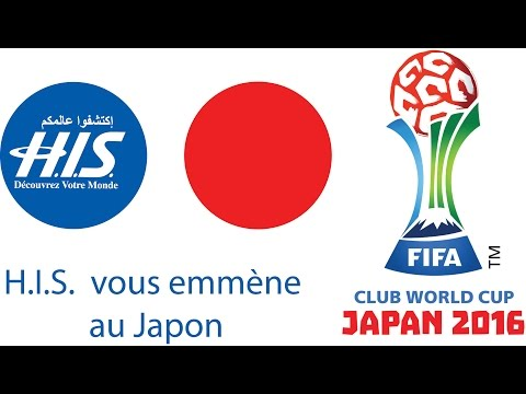 FIFA Club World Cup Japan 2016 - Agence H.I.S - Voyage organisé