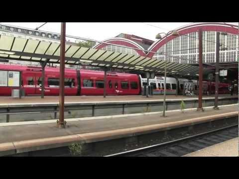 Trains: Denmark, between Malmö and Copenhagen