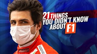 21 More Things you Didn't Know About F1
