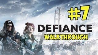 Defiance Walkthrough Part 7 - Arkfalls [Full Retail Game] - PC Gameplay