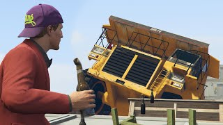 MOLOTOVS vs TRUCKS! (GTA 5 Online)