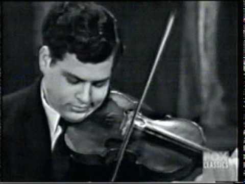 Perlman - Wieniawski d-moll III