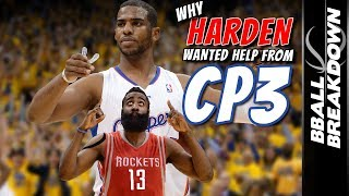 Why James Harden Wanted Chris Paul