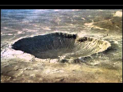 Десятка самых внушительных метеоритных кратеров Земли.