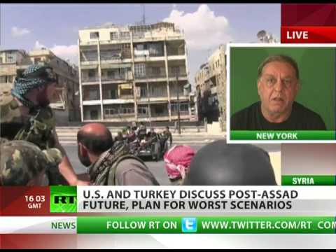 'Western powers antithetical to peace in Syria'