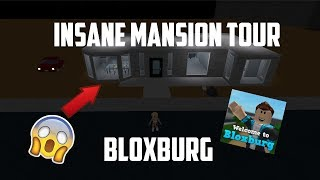 INSANE MANSION HOUSE TOUR IN BLOXBURG (Roblox)